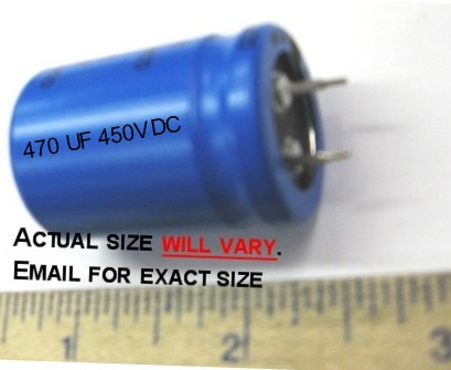 18-01-0908 Electrolitic Capacitor Snap In 250V 1200UF 105C 35X35MM