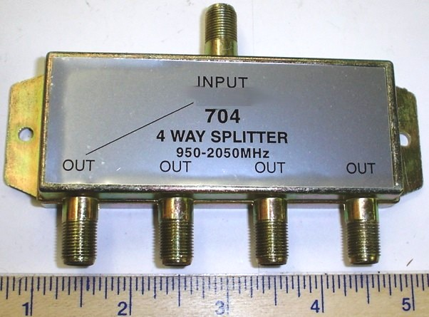 Tv Cable Wire Splitter : Splitter cable tv